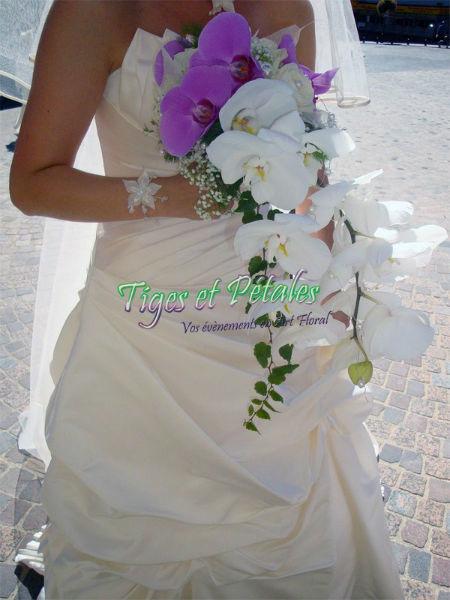 Bouquet de mariée - Tiges et Pétales