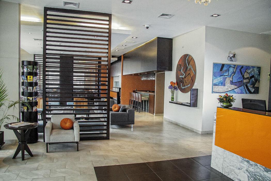 Lobby  Foresta Hotel Lima San Isidro