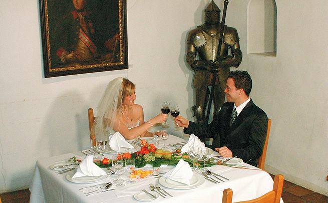 Beispiel: Brautpaar, Foto: Burg Hasegg.