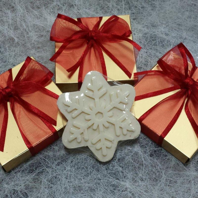 Detalles Lacuey. Chocolatinas navideñas para un regalo dulcísimo en estas fiestas.