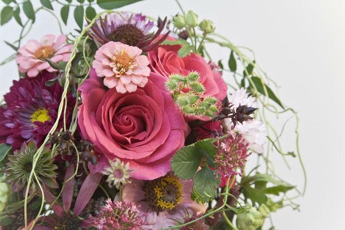 Beispiel: Immer frische Blumen, Foto: Blumen Maarsen.