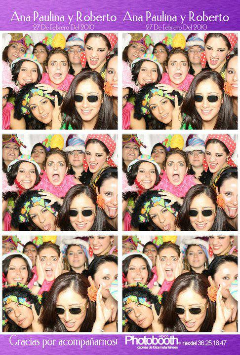 Photobooth México, recuerdos para tu boda, ubicados en el DF