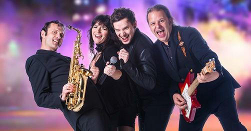 Beispiel: Bandkonstellation Quartett, Foto: Voyage Entertainment.