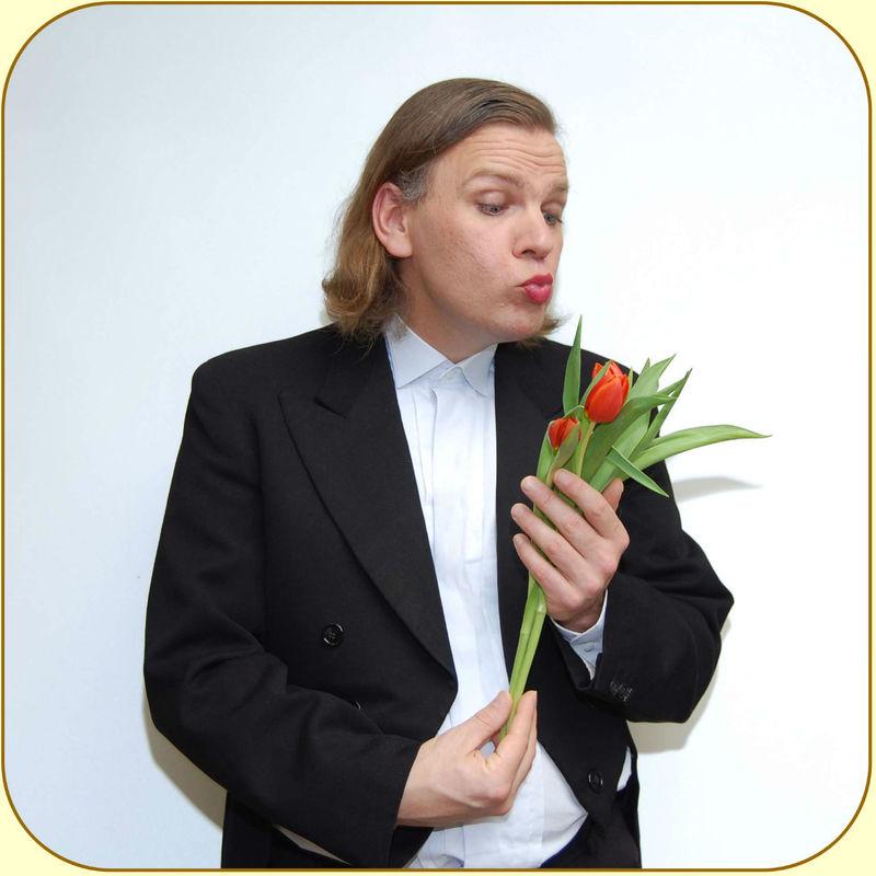 Beispiel: Comedykellner Francois, Foto: Matte Lacchiato.