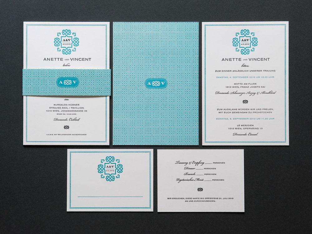 Beispiel: Von Einladung bis Hochzeitsmenü, Foto: Herz & Co.