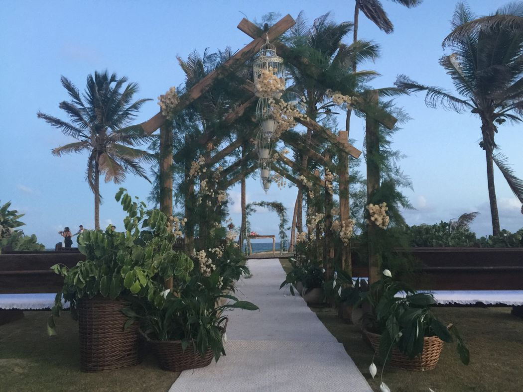 Casar na praia: um sonho possível, no Tropicália!