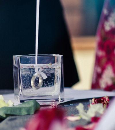 Beispiel: Die Ringe, Foto: Reden & Zeremonien Imke Klie.