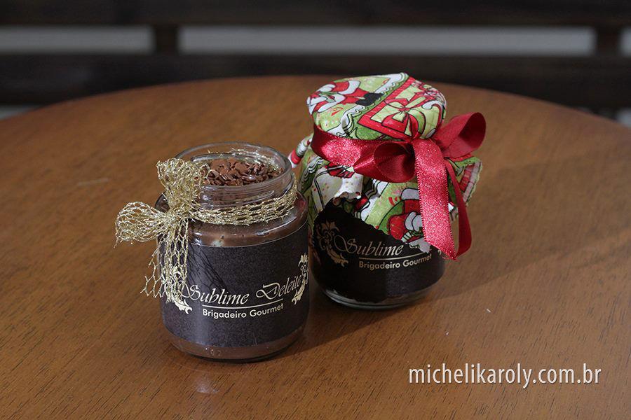 Sublime Deleite Brigadeiro Gourmet. Foto: Micheli Karoly