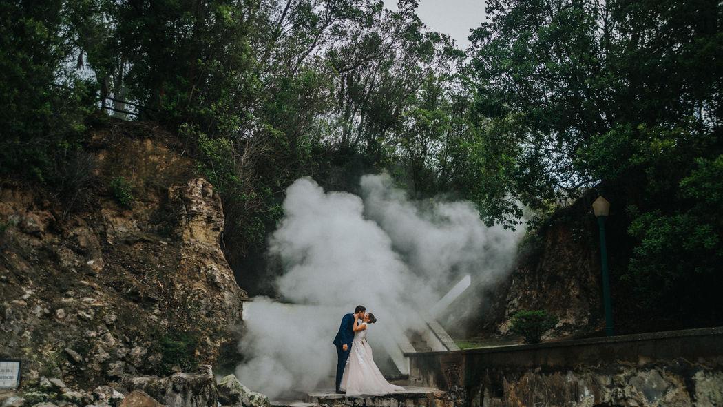 Rita e Pedro, Trash the Dress, Açores