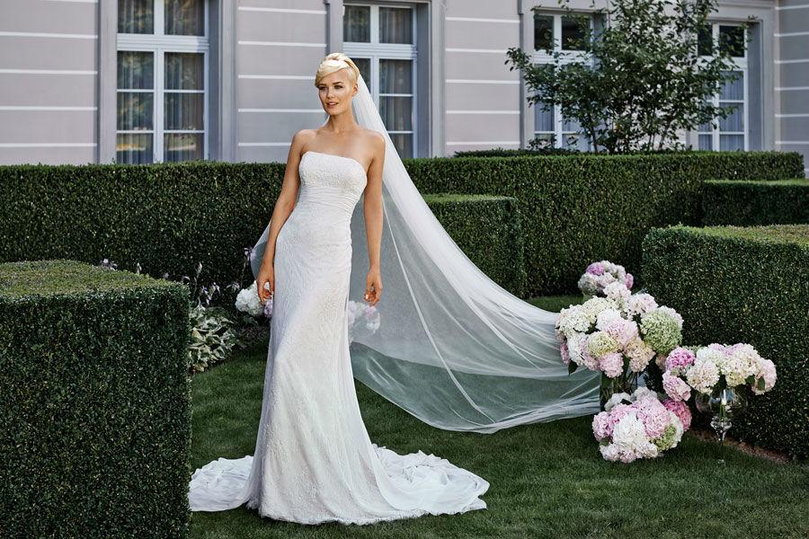 Beispiel: Brautmode zum Wohlfühlen, Foto: Mery's Couture Aarau.