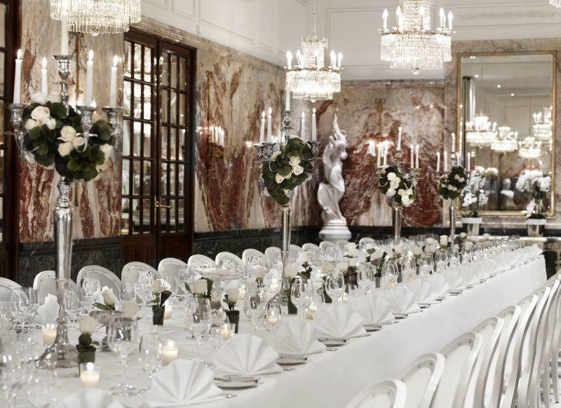Beispiel: Marmorsaal, Foto: Hotel Sacher.