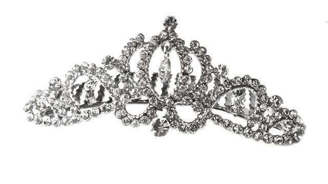 Arya Italian Jewels - Accessori Acconciatura matrimonio - Pettinino Tiara Sposa con Swarovski