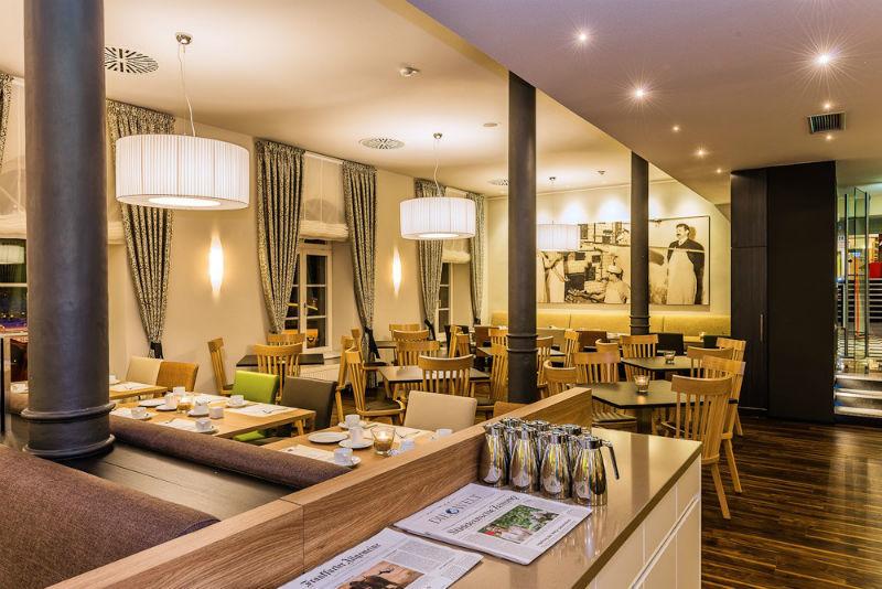 Beispiel: Speisesaal, Foto: Nestor Hotels.