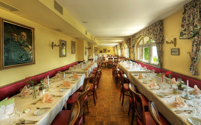 Beispiel: Schlossherren-Restaurant, Foto: Pöstlingberg Schlössl.