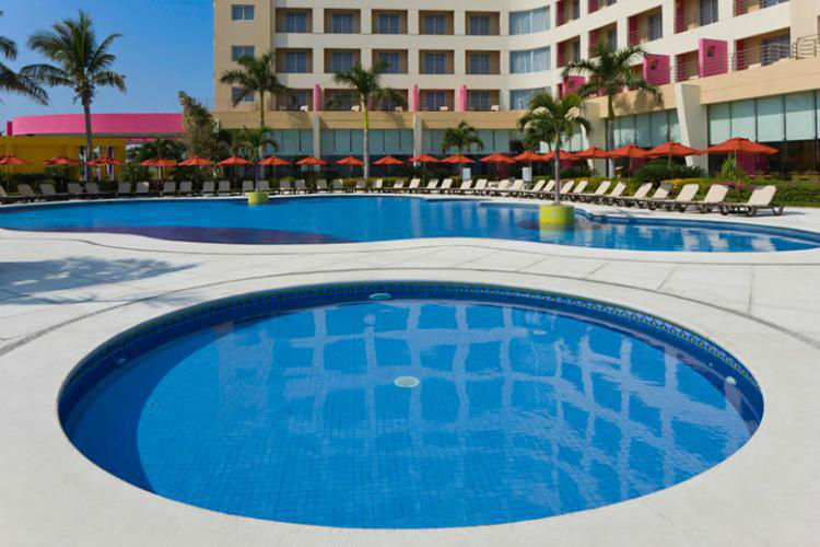 Hotel Camino Real Veracruz,  en la zona hotelera de Boca del Río. Veracruz