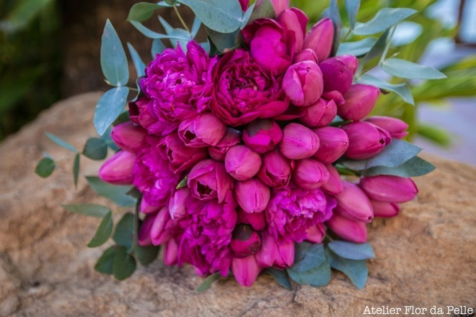 Bouquet da noiva Atelier Flor da Pelle