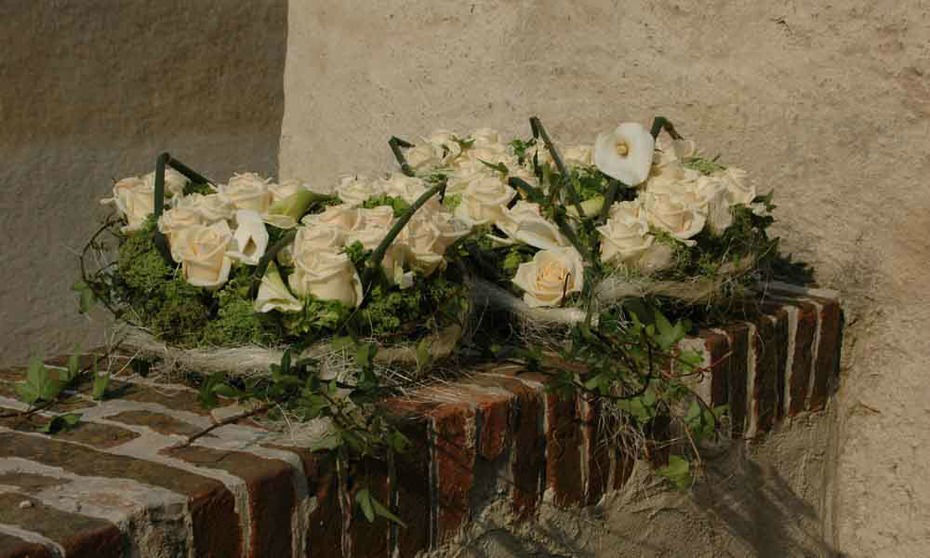 Beispiel: Wunderschöner Blumenschmuck, Foto: Burg Forchtenstein.