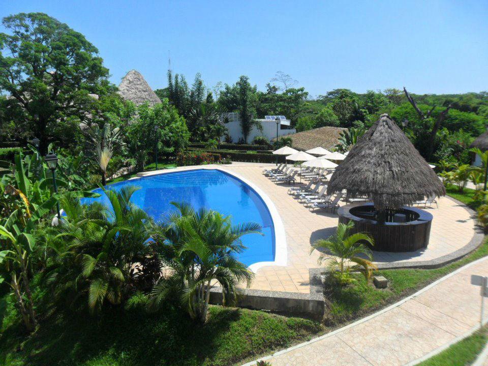 Alberca Hotel - Villa Mercedes Palenque