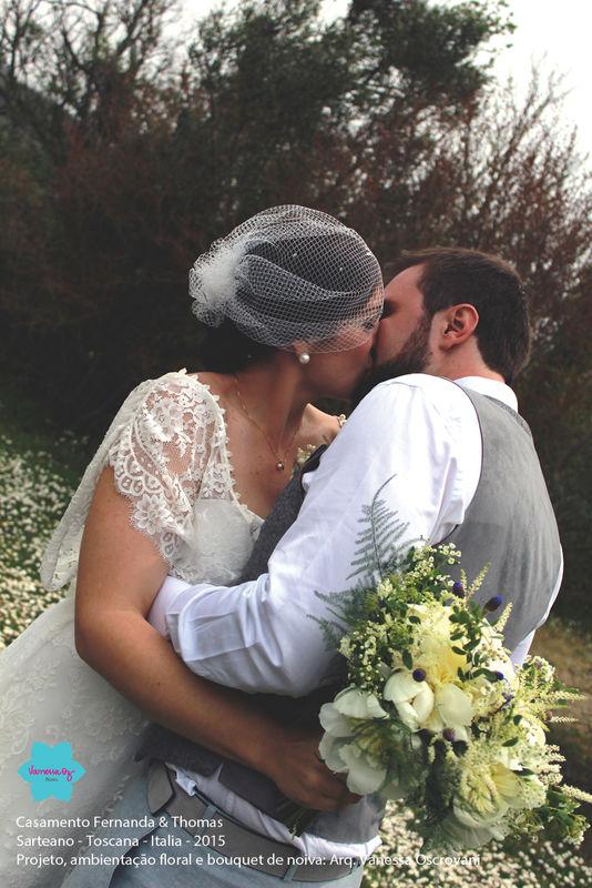 Casamento Fernanda & Thomas Sarteano - Toscana - Itália Planejamento, decoração, bouquet de noiva e acessórios.