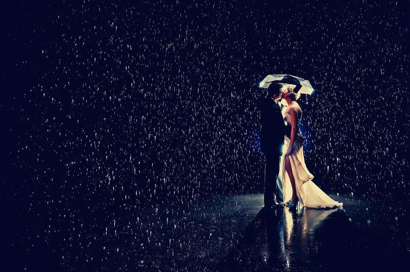 Beispiel: Regenschutz bei Ihrer Hochzeit, Foto: wedDROPS.
