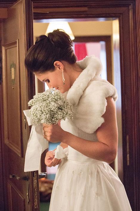 Beispiel: Wunderschöne Brautmode, Foto: Susanne Spatt Salzburg.