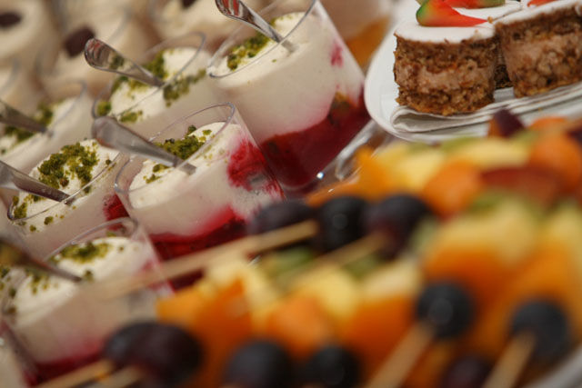 Beispiel: Catering, Foto: Table-Service.