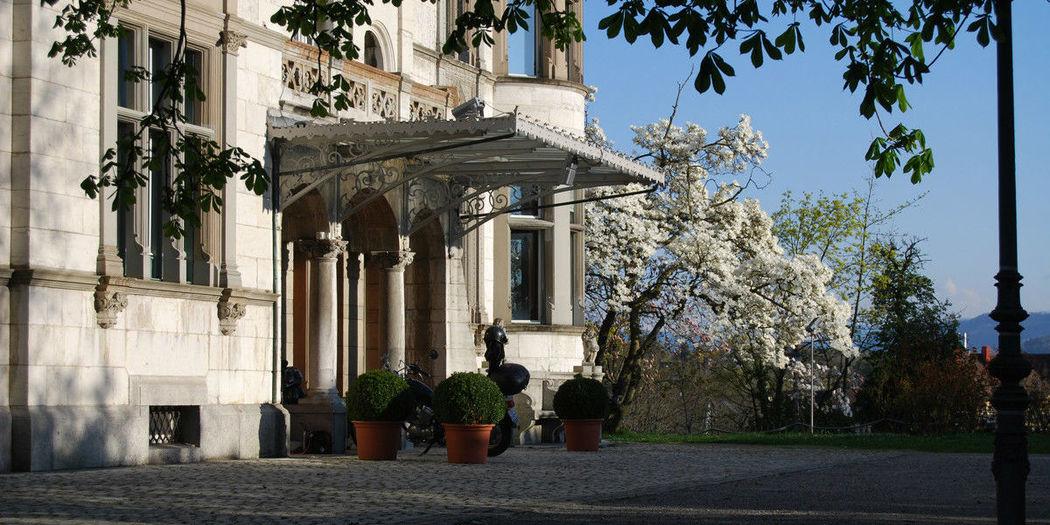Beispiel: Eingangsbereich, Foto: Schloss Sihlberg.