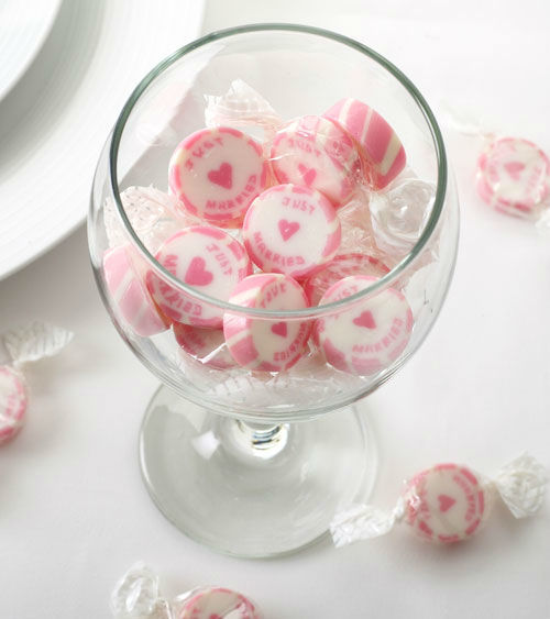 Beispiel: Bonbons Just Married, Foto: My Bridal Shower.