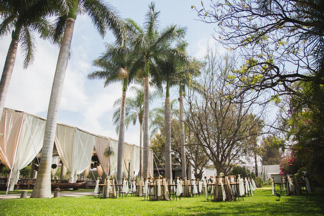 Boda de día - Casa Don Luis Jardín Boutique - Oaxaca
