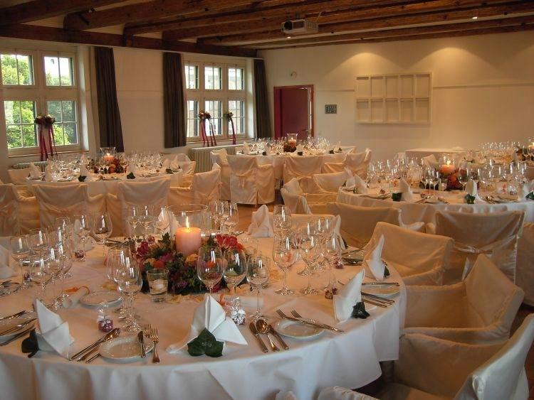 Beispiel: Hochzeitsgedeck, Foto: See & Park Hotel Feldbach.