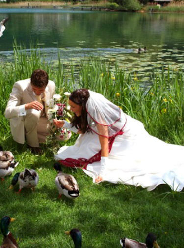 Beispiel: Kleider für Ihren schönsten Tag, Foto: Traut euch Brautsalon.