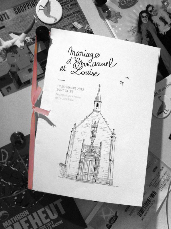Emmanuel & Louise - Livret http://www.papierchic.com/
