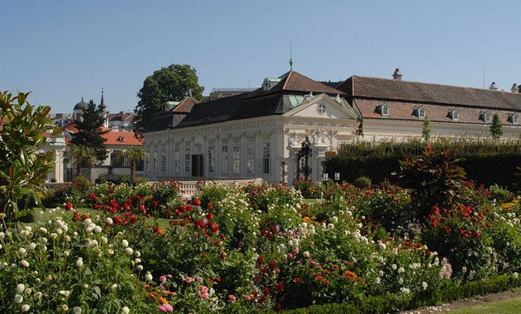 Beispiel: Schlossgarten, Foto: Festung Hohensalzburg.
