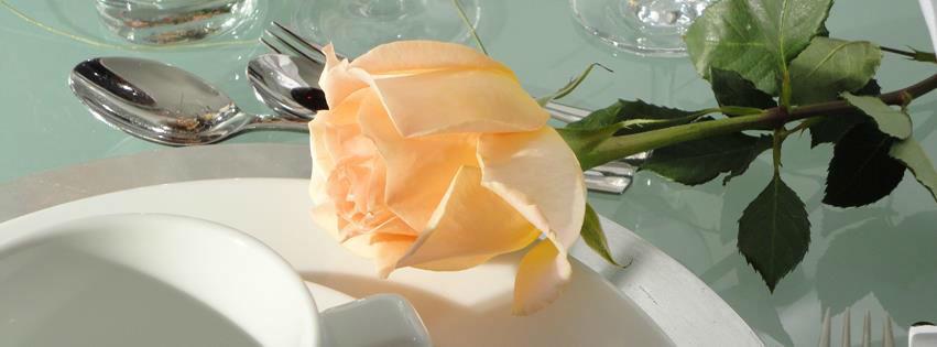 Beispiel: Hochzeitsdekoration, Foto: Feste Feiern.