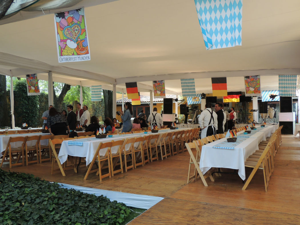 Celebración Oktoberfest 2014 para Múnich RE.