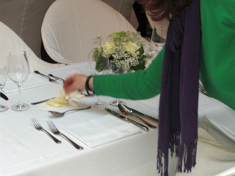 Beispiel: Hochzeitsdekoration, Foto: Fiori Botticelli.