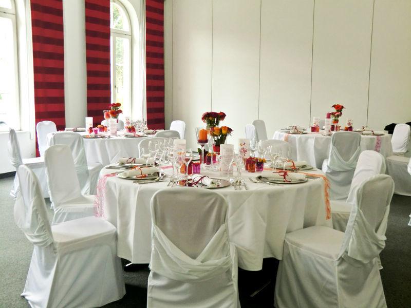 Beispiel: Hochzeitsdekoration vom Profi, Foto: Hussen und mehr...