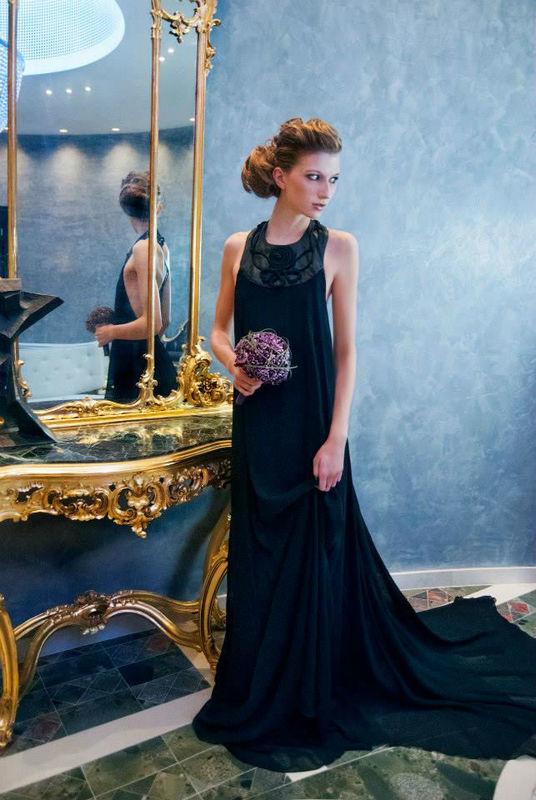 Foto: Haare und Make-Up von Pascale Sadler, Foto: Le salon mobile.