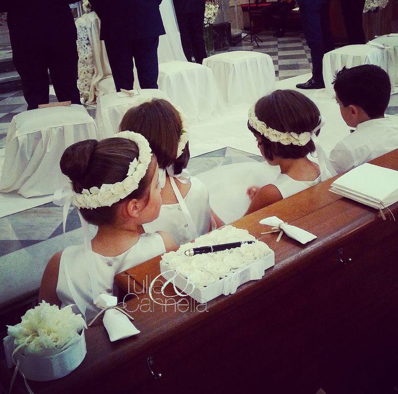 Paggetti e Damigelle - Rito nuziale - Matrimonio Sorrento - Cerimonia romantica