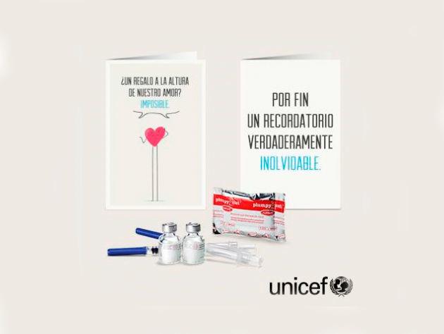 Regalo Azul de UNICEF