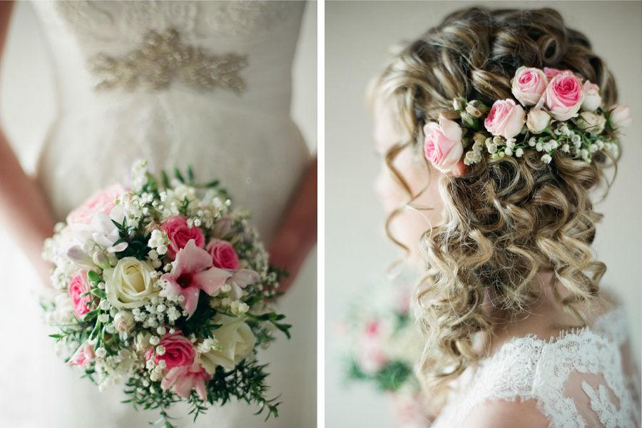 Foto: Blumen im Haar