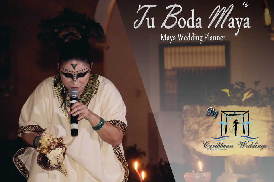 Experimenta una celebración totalmente diferente, UNA BODA MAYA, como lo celebraban nuestros ancestros Mayas. Tu Boda Maya es la única  chaman que te expedirá un certificado de boda en toda la tierra Maya.  Más información: Tel +52 999 953 64 29 Cel +52 999 738 66 05 (Whatsapp) Mail: garjona@caribbean-weddings.com.mx