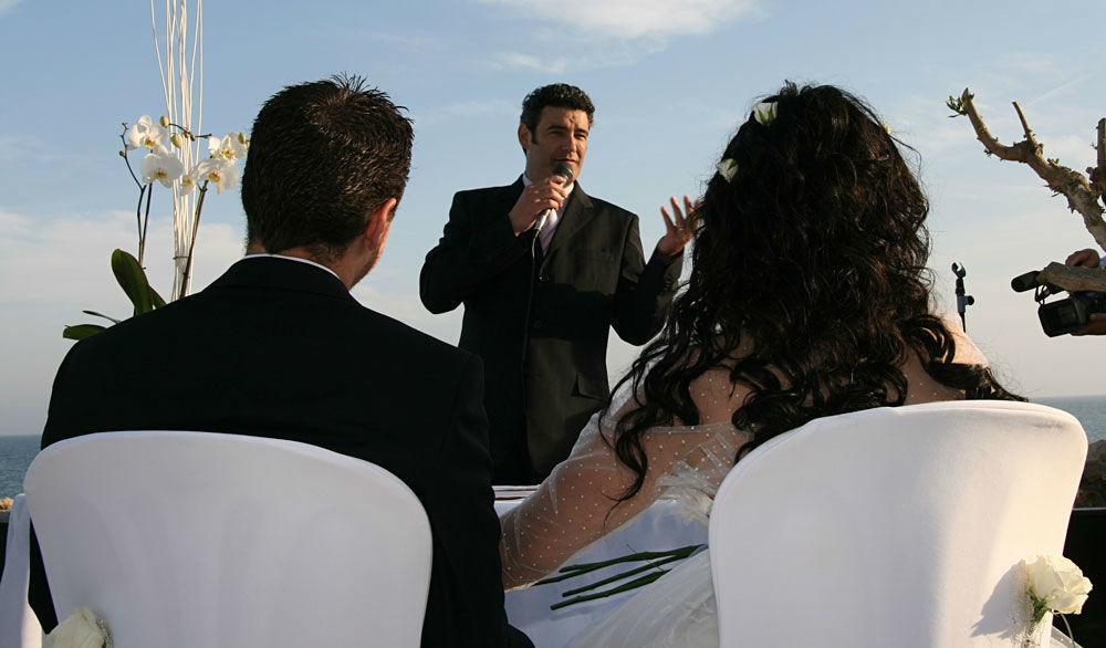 Juez ceremonia civil