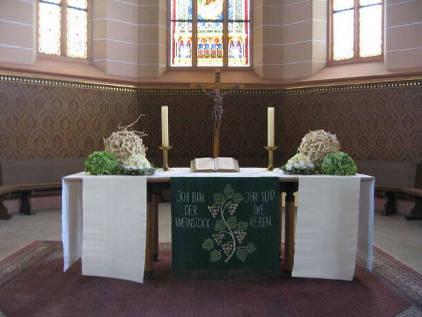 Beispiel: Blumen für die Zeremonie, Foto: Tina Bergmann Blumenwerkstatt.