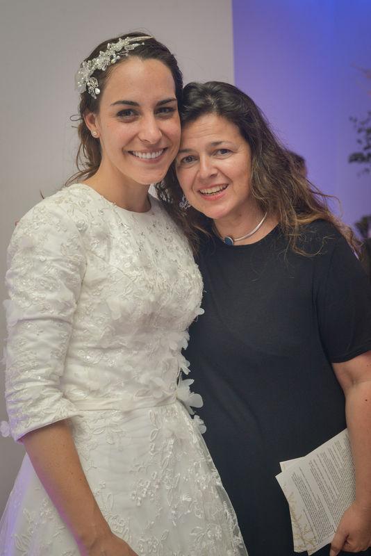 Matrimonio isi y Cheby en Sinagoga Jabad