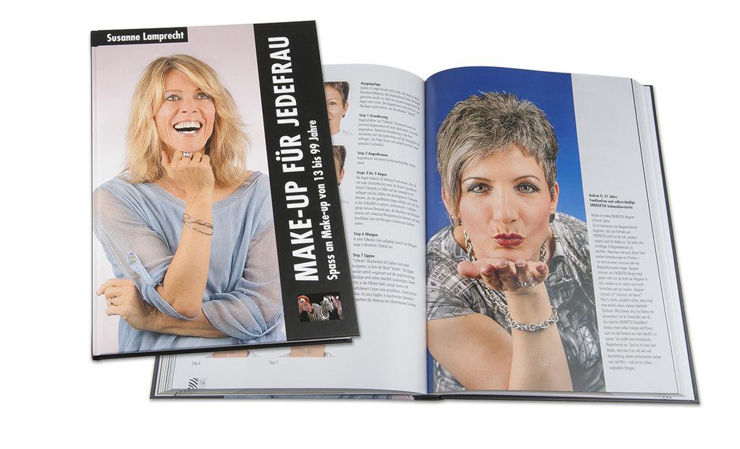 Susanne Lamprecht (Ex-Künstlername), Autorin des Buches MAKE-UP FÜR JEDEFRAU Spass an Make-up von 13 bis 99 Jahre. www.styling4u.ch.