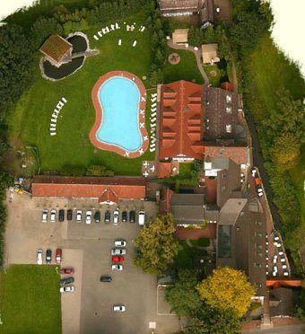 Beispiel: Luftaufnahme, Foto: Hotel Loemühle.