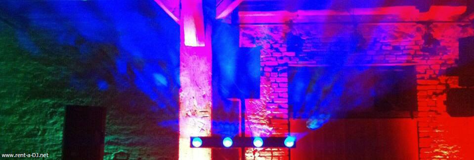 Beispiel: Lightshow, Foto: DJ Dan - Mobile Disco.
