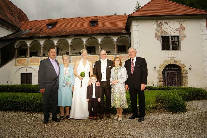 Beispiel: Hochzeit auf dem Schlosshotel, Foto: Kartause Gaming.
