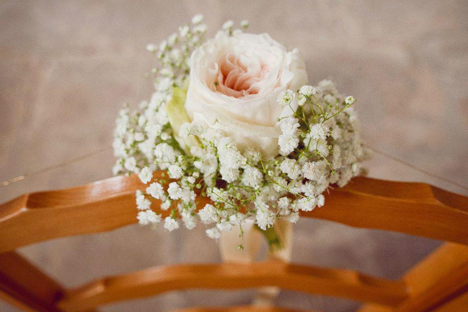 Beispiel: Hochzeitsfloristik, Foto: Die Blumenbinderei.